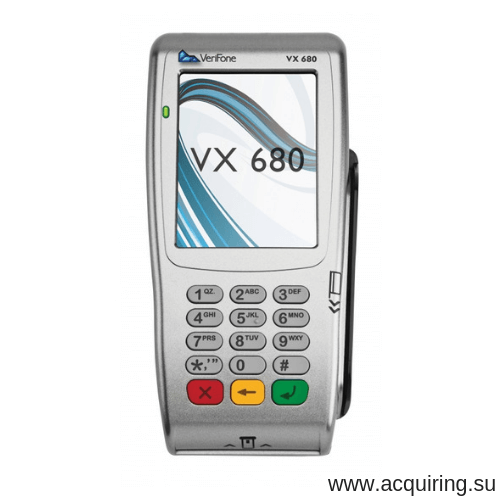 POS-терминал Verifone VX680 (Wi-Fi, Bluetooth), комплект Прими Карту в Стерлитамаке